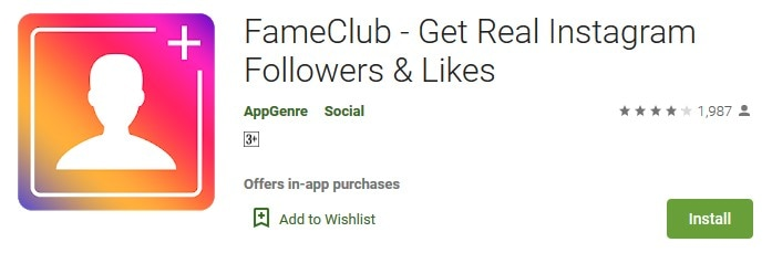 Get Real Instagram Followers & Likes- Fame Club