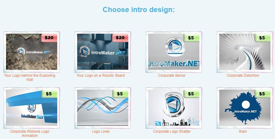 intro maker logo animation software