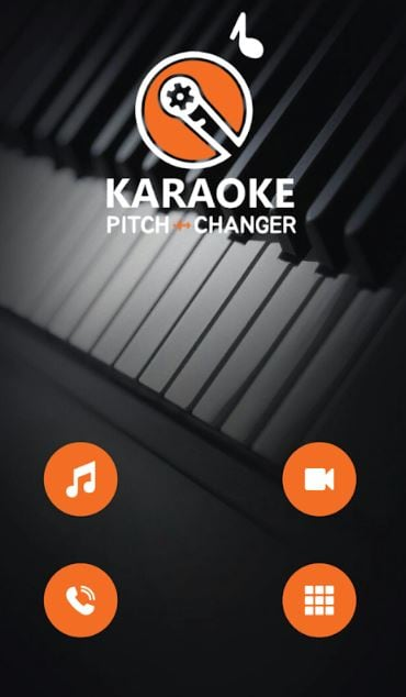 Karaoke Pitch Changer