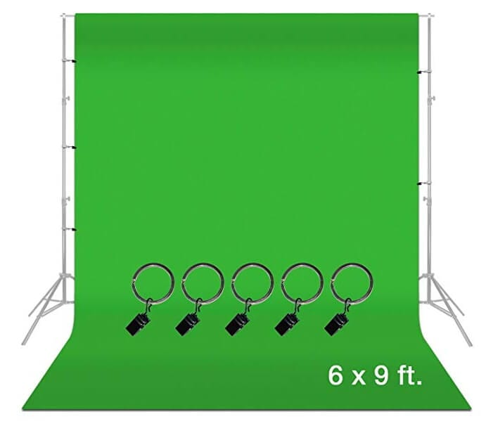 greenscreen backdrop