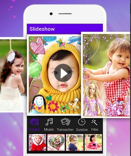 Photo video maker with song app download for iphone