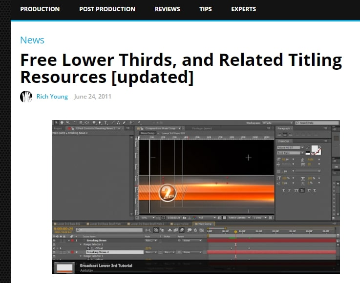 Top 20 Free Adobe Premiere Title Templates 2019 (Free Download)