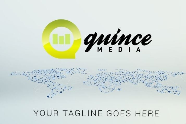 Quince Media animated logo maker