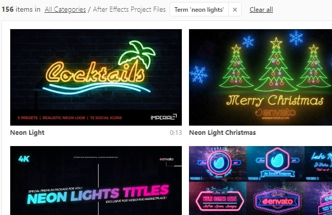 How to Make Neon Glow Text in After Effects/FilmoraPro Easily