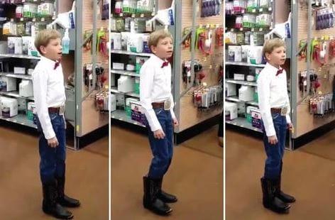 Il ragazzo di Walmart che fa lo Yodel