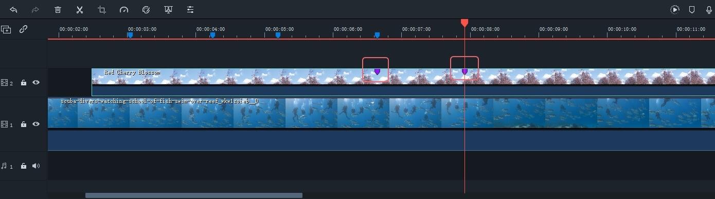 Añadir Marcadores a los Clips en Filmora9