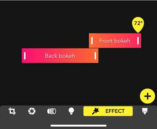add more bokeh effects with Focos app