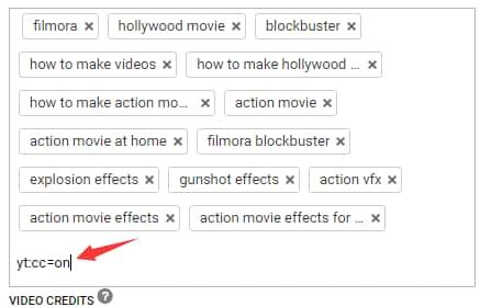 add a specific tag
