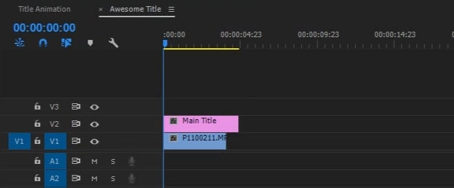 How to add texttitle in adobe premiere pro apply titles and text ccuart Choice Image