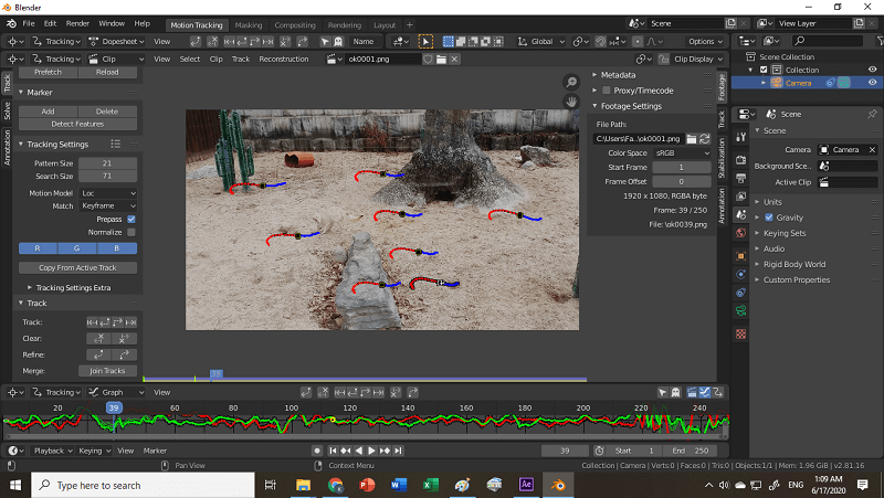 add-tracking-markers-camera-tracking-in-blender-2.8