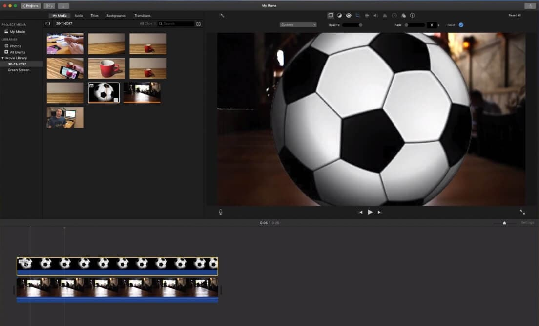 add-video-imovie-keyframing