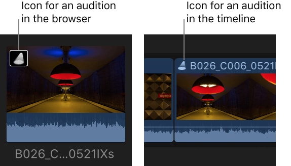 What is Audition in FCP