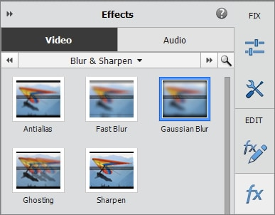 Adobe Premiere Elements Blur Face