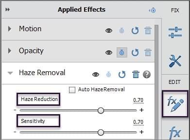 Premiere Haze Remover