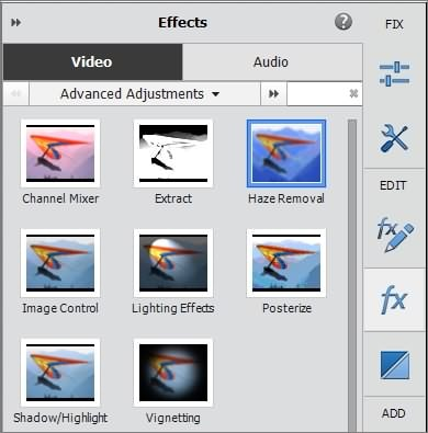 How to Remove Haze and Make a Sharp Video with Premiere Elements