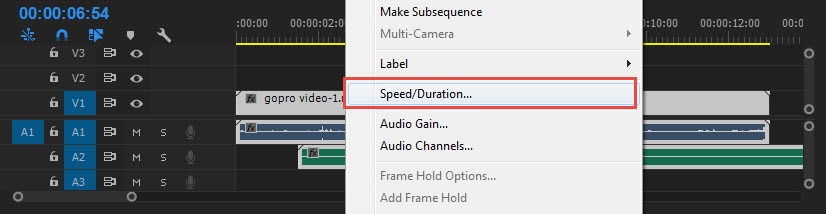 How to reverse/rewind clips in Adobe Premiere Pro