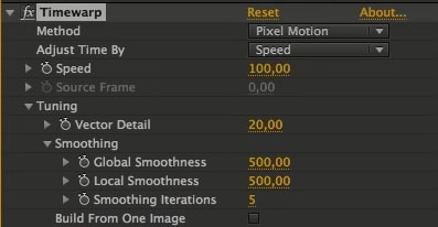 after effects motion blur