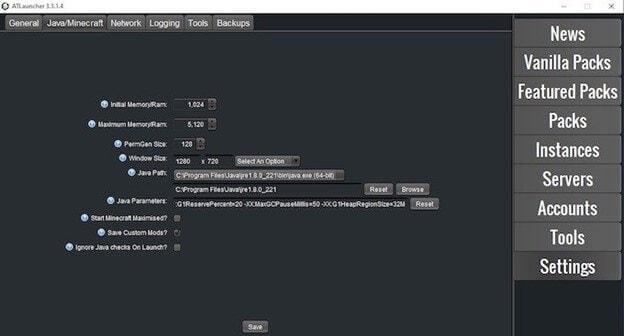 allocate-more-ram-using-atlauncher-step2