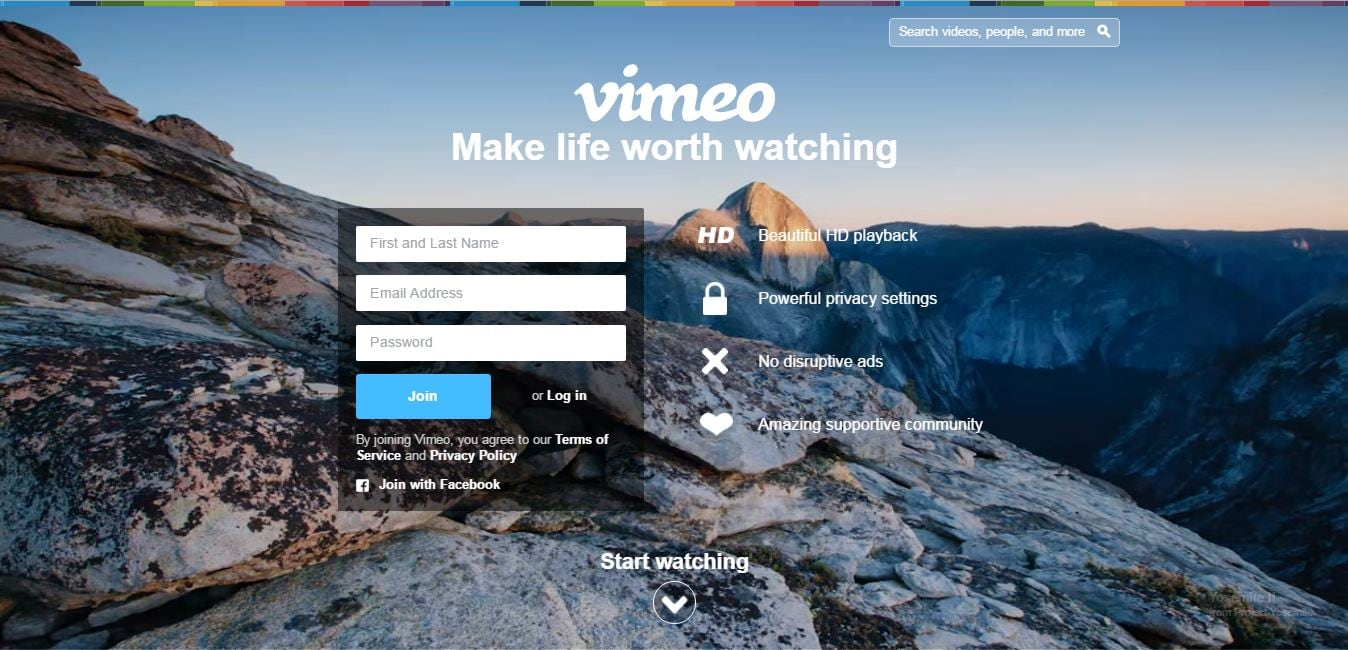 YouTube Alternatives - Vimeo