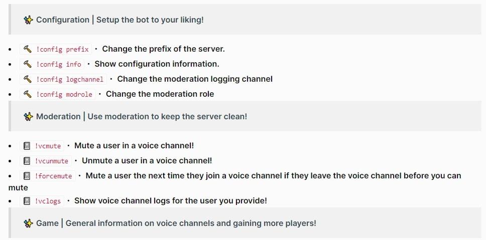 Among US Bot Command