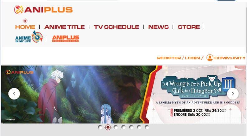 aniplus anime website