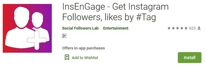 InsEnGage likes by tag