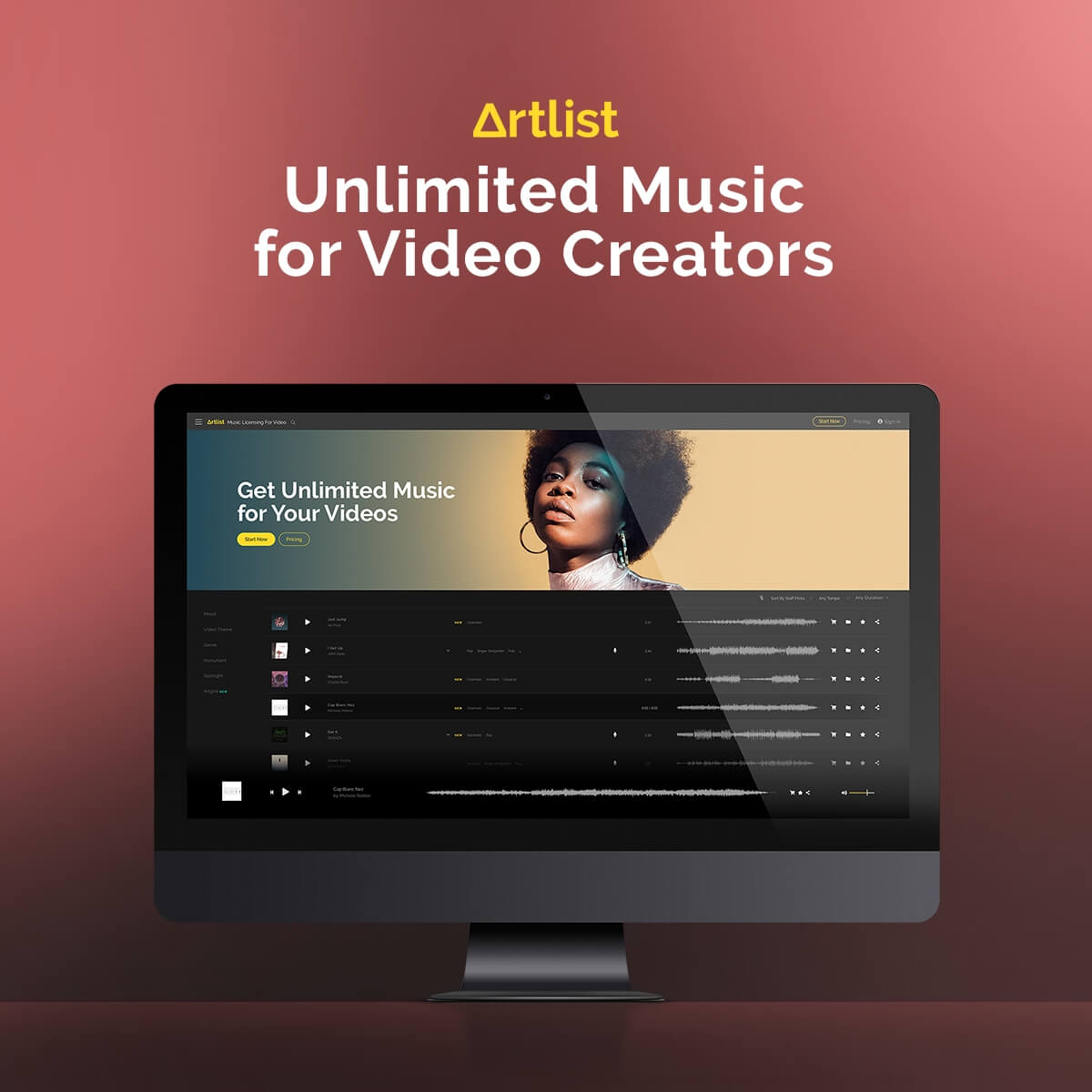 artlist music library