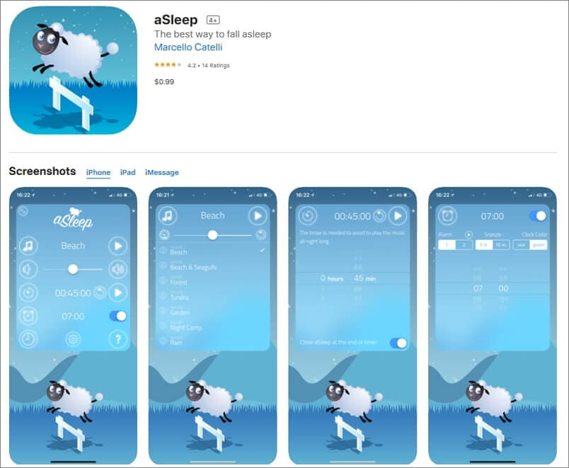aSleep Sound App