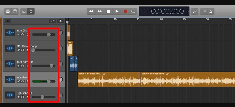 Audio Mixing Garageband