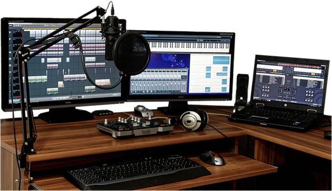 logiciel de mixage audio