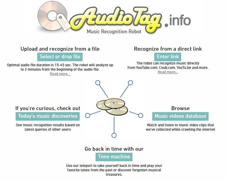 Le logiciel de reconnaissance musicale AudioTag