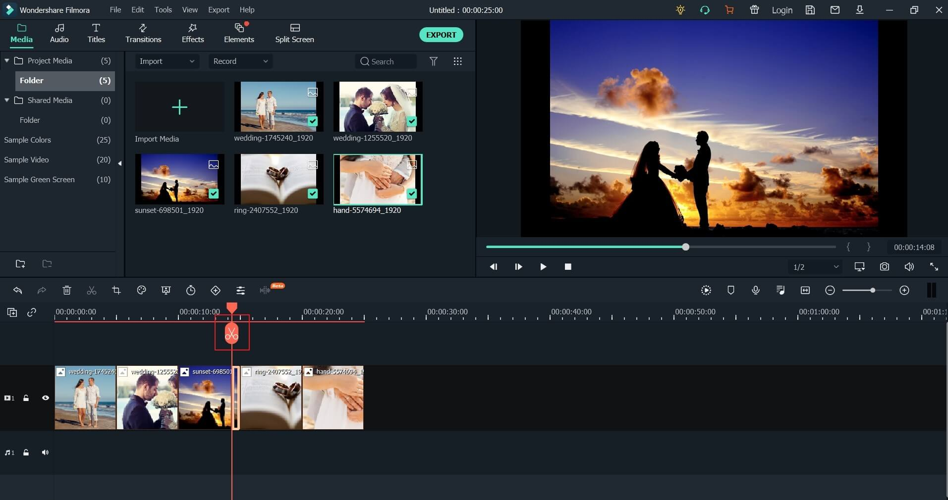 Basic editing in Filmora