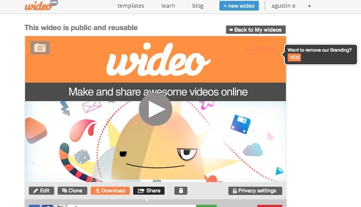 Wevideo editor online