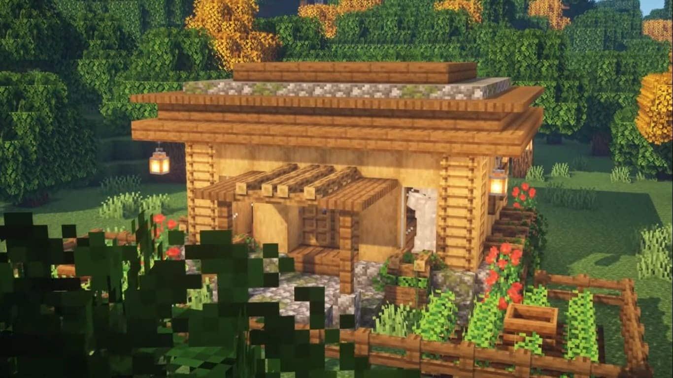 beautiful-village-house-poster