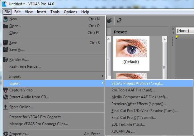 Color Match sony vegas pro 15
