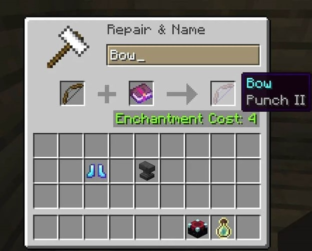 best-bow-enchantments-punch