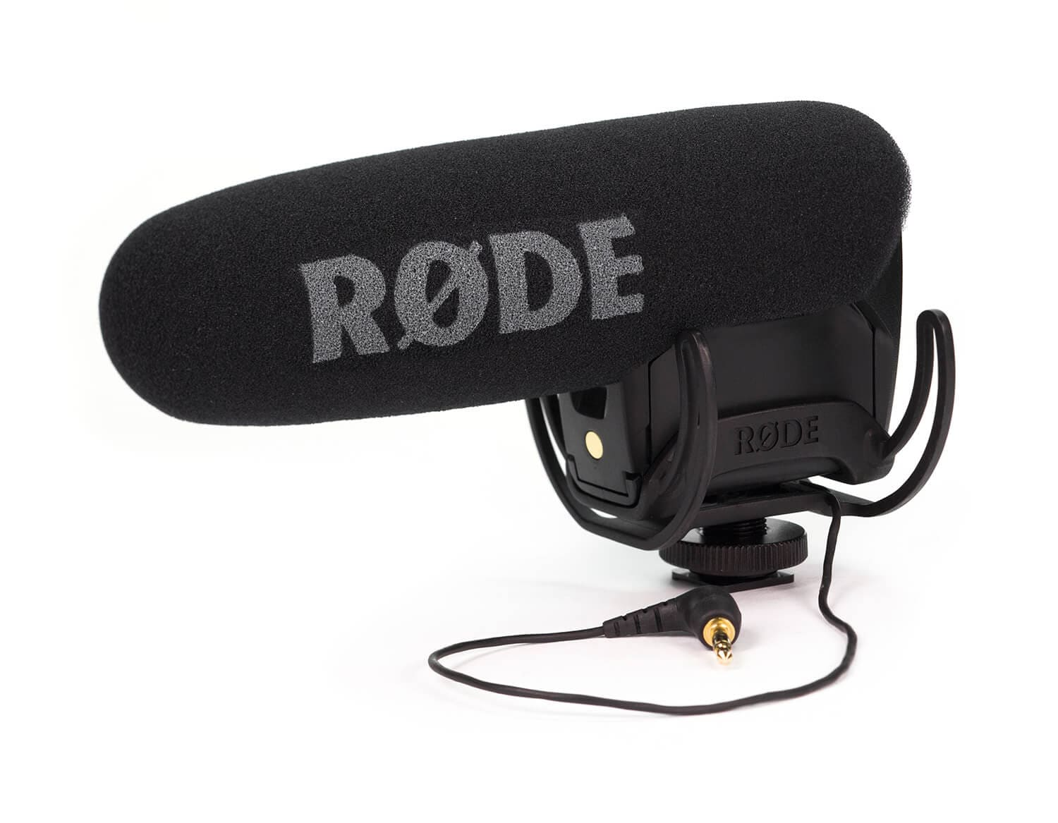 Best Microphone for Action and Fitness: Rode VMPR VideoMic Pro R with Rycote Lyre Shockmount