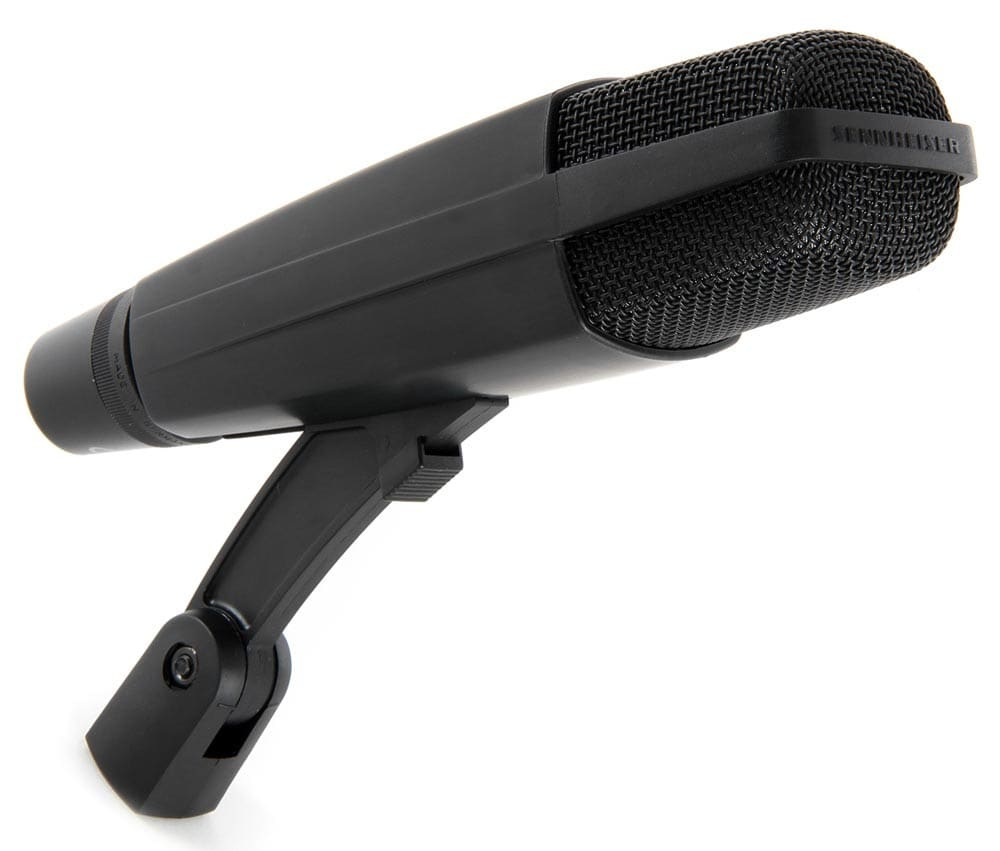 Best Microphone for Big Echoey Space: Sennheiser MD 421 II Cardioid Dynamic Mic