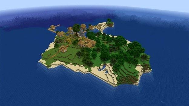 best-minecraft-seeds-minecraft-seed-island