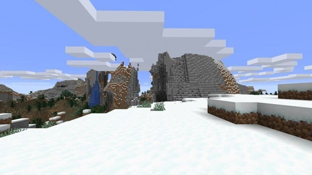 best-minecraft-seeds-winter-forest