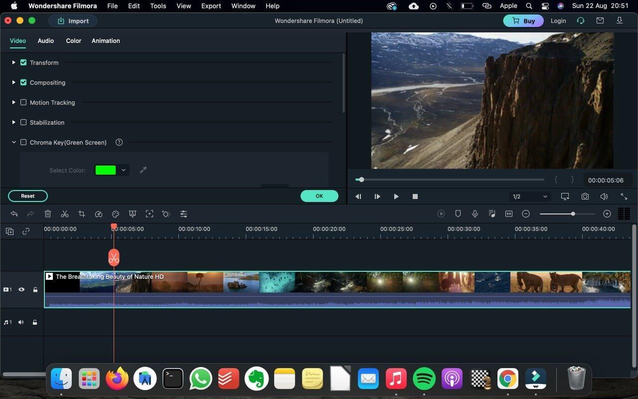 Filmora Editing Tools