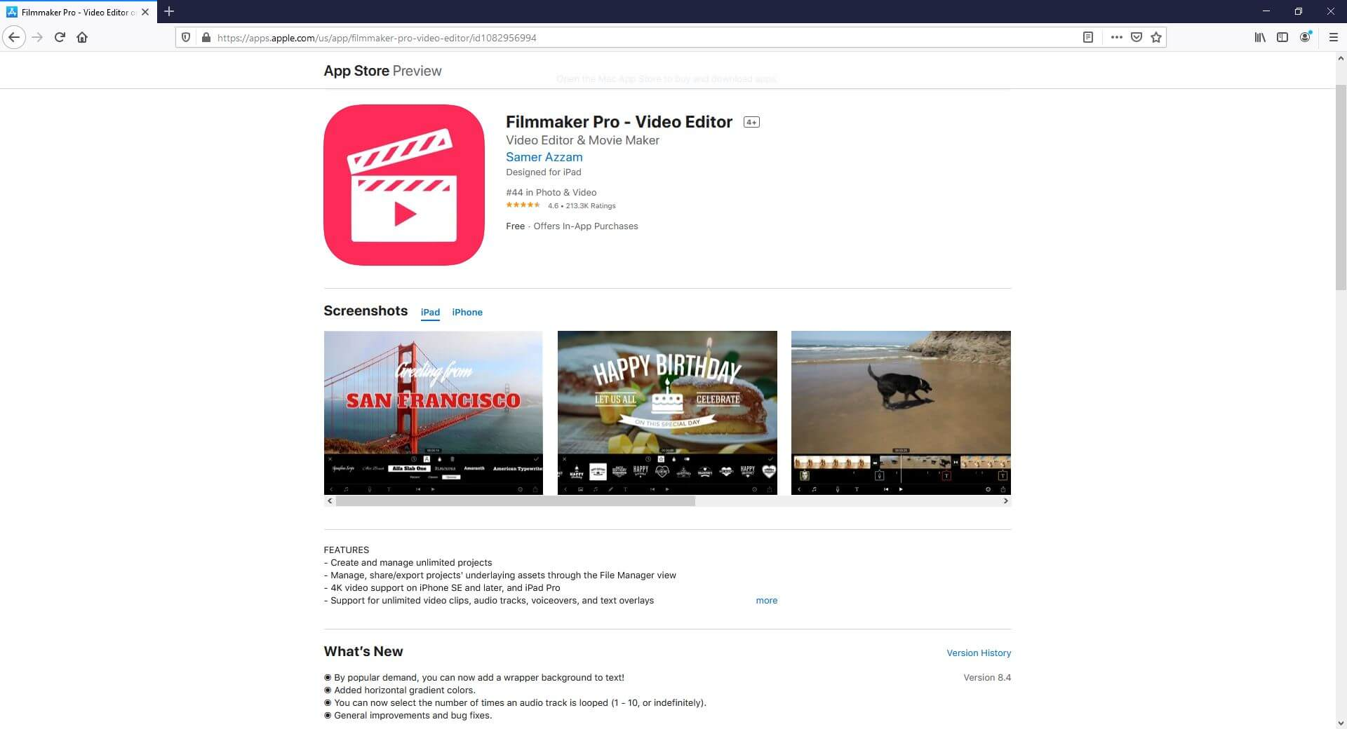 YouTube Shorts Video Editing app: Filmmaker Pro