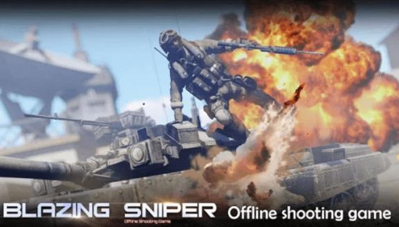 blazing-sniper-offline-shooting-game-poster