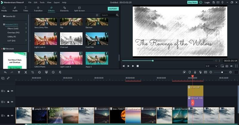 Add Book Trailer Effects