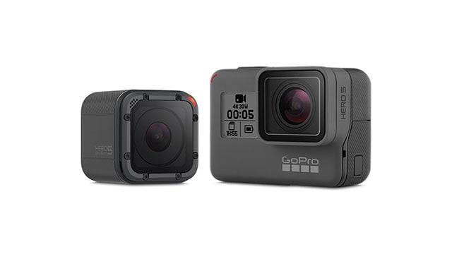 box shape action camera