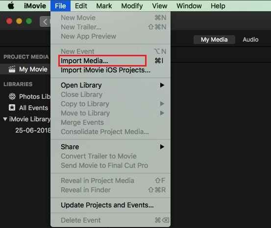 iMovie Music: How to Add Background Music