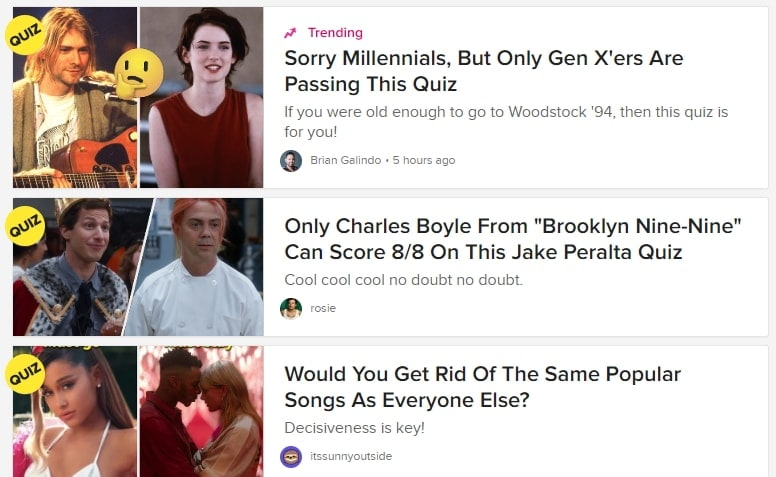 viral website buzzfeed