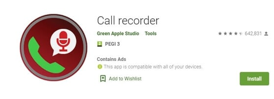 Vocie Recorder App for Android - Call Recorder