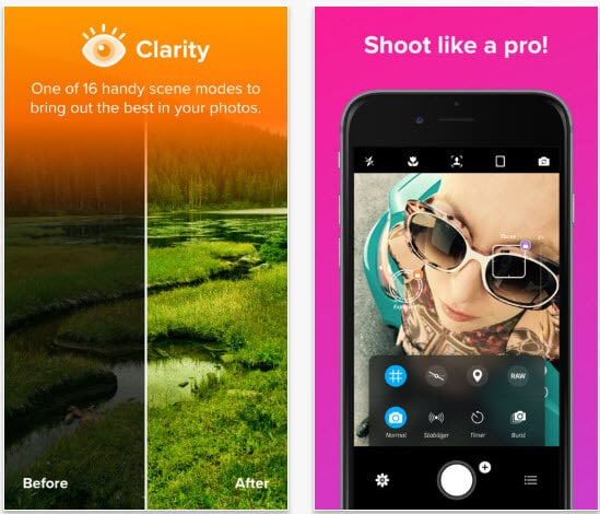 10 best camera apps for iphone x 8 8 plus 7 7 plus free paid