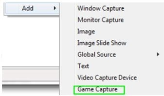 capture option